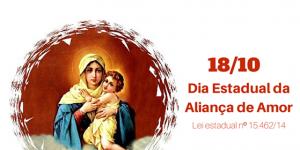 """""""Dia da Aliança de Amor"""" é celebrado no estado de São Paulo"""