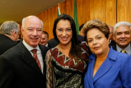 Rita Passos participa de encontro com Dilma Roussef